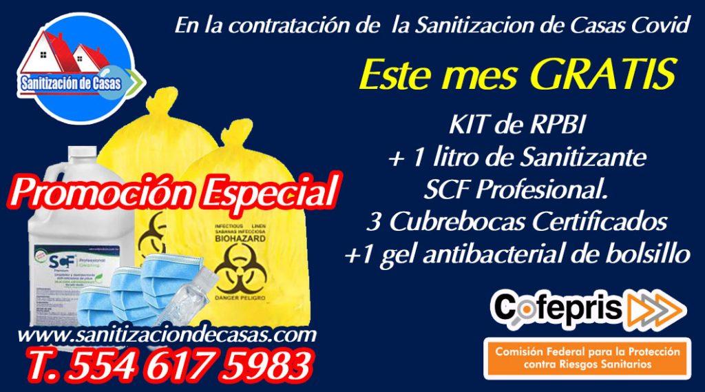 limpieza y desinfección de casas con covid en naucalpan